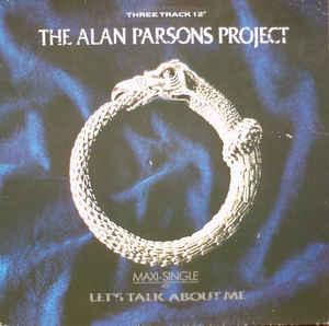 "ALAN PARSONS PROJECT, THE - LET'S TALK ABOUT ME German maxi single, Swedish promostamp (12"")"