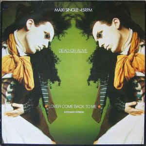 "DEAD OR ALIVE - LOVER COME BACK TO ME Dutch maxi single, Swedish promostamp (12"")"