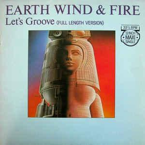 "EARTH, WIND  &  FIRE - LET'S GROOVE Dutch maxi single (12"")"