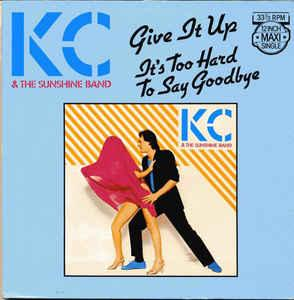 "KC & THE SUNSHINE BAND - GIVE IT UP Dutch maxi single (12"")"
