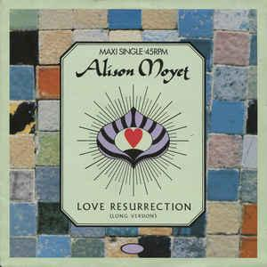 "MOYET, ALISON - LOVE RESURRECTION Dutch maxi, Swedish promostamp (12"")"