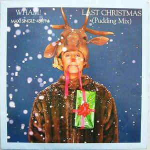 "WHAM! - LAST CHRISTMAS Dutch maxi, Swedish promostamp (12"")"