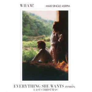 "WHAM! - EVERYTNING SHE WANTS Dutch maxi, Swedish promostamp (12"")"