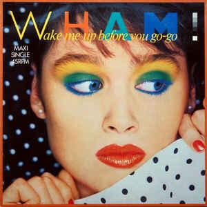 "WHAM! - WAKE ME UP BEFORE YOU GO-GO Dutch maxi single, promostamp (12"")"