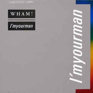 "WHAM! - I'M YOUR MAN Dutch maxi, Swedish promostamp (12"")"