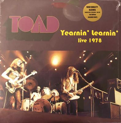 TOAD - YEARNIN' LEARNIN' - LIVE 1978 (LP)