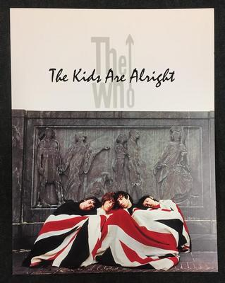 "WHO, THE - THE KIDS ARE ALRIGHT Promo Sampler For The Movie ""The Kids Are Alright"" (CD)"