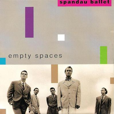 "SPANDAU BALLET - EMPTY SPACES / FIGHT FOR OURSELVES (LIVE) Dutch ps (7"")"