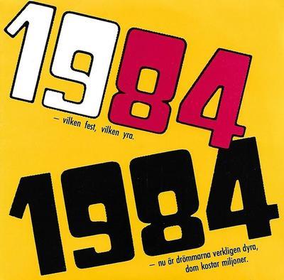 """RÖNNBLOM, ANDERS F - 1984 / ELD & VATTEN (7"""")"""