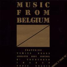 "VARIOUS ARTISTS (SYNTH / ELECTRO) - MUSIC FROM BELGIUM Belgian Original Pressing (12"")"