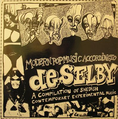 VARIOUS ARTISTS (SYNTH / ELECTRO) - MODERN POP MUSIC ACCORDING TO DE SELBY Comes With Two Inserts (LP)