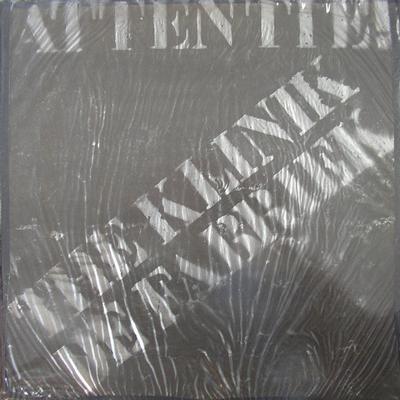 KLINIK - ATTENTIE Earliest recording together with De Fabriek Complete Ultra rare original (LP)