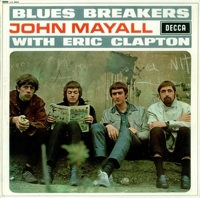 JOHN MAYALL WITH ERIC CLAPTON - BLUESBREAKERS WITH ERIC CLAPTON UK 1971 Pressing With Laminated Sleeve (LP)
