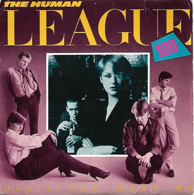 "HUMAN LEAGUE, THE - DON'T YOU WANT ME UK ps, including bonus poster! (7"")"