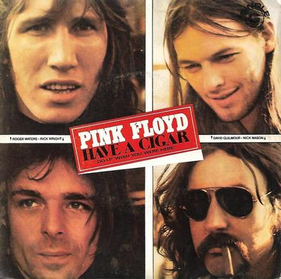 "PINK FLOYD - HAVE A CIGAR / SHINE ON YOU CRAZY DIAMOND - PARTE 1 Rare Portuguese ps! (7"")"