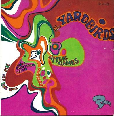 "YARDBIRDS, THE - LITTLE GAMES + 3 Rare French 1967 EP! (7"")"