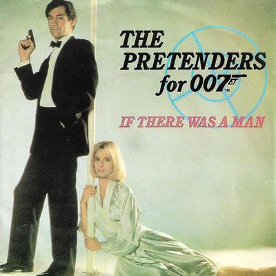 "PRETENDERS, THE - IF THERE WAS A MAN / INTO VIENNA Scarce Portuguese ps (7"")"