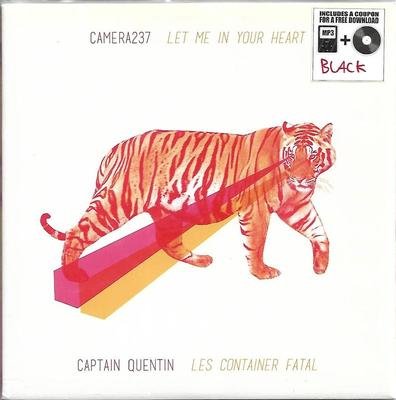 "CAMERA237 / CAPTAIN QUENTIN - LET ME IN YOUR HEART / LES CONTAINER FATAL (7"")"