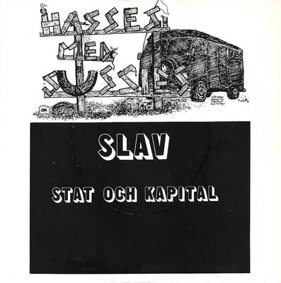 "HASSES MED SUSSIES - SLAV / STAT OCH KAPITAL Rare Swedish punk (7"")"