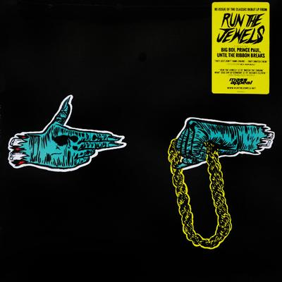 RUN THE JEWELS - S/T Gold Vinyl With Patch & Poster (LP)