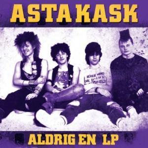 ASTA KASK - ALDRIG EN LP Yellow vinyl, 2018 reissue (LP)