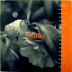 VARIOUS ARTISTS (POP / ROCK) - TAUBE Compilation of Evert Taube Covers By Eldkvarn, Jakob Hellman, Kajsa Grytt, Perssons Pack (2LP)