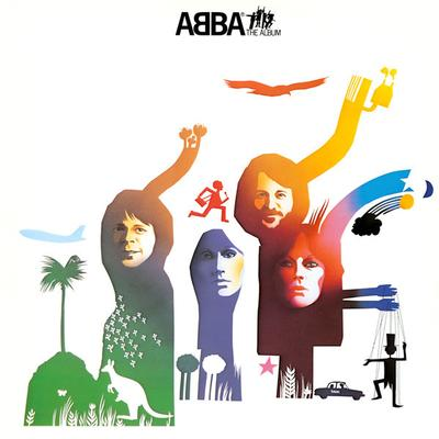 ABBA - THE ALBUM Swedish pressing, printed inner (LP)