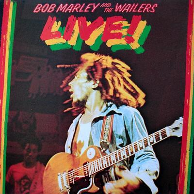 MARLEY, BOB & THE WAILERS - LIVE! AT THE LYCEUM Swedish Original Pressing With Black Innersleeve (LP)
