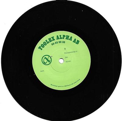 "LEDIN, TOMAS - OPEN UP + 2 Very rare testpressing, factory labels (7"")"