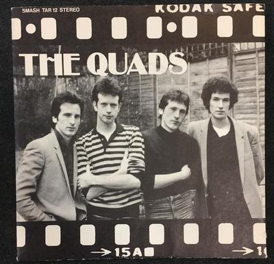"QUADS, THE - THERE'S NEVER BEEN A NIGHT / Take It (7"")"