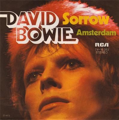 "BOWIE, DAVID - SORROW / Amsterdam (7"")"