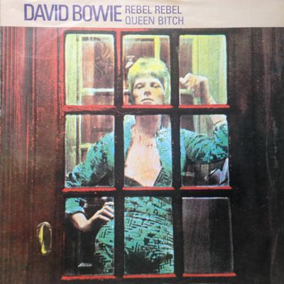 "BOWIE, DAVID - REBEL REBEL / Song For Bob Dylan Mispress With Dylan On B-Side (7"")"