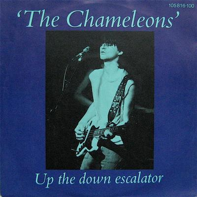 "THE CHAMELEONS - UP THE DOWN ESCALATOR / Monkeyland (7"")"