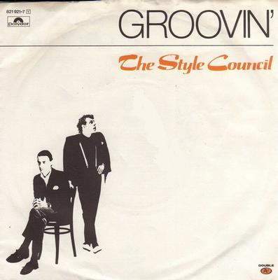 """STYLE COUNCIL, THE - GROOVIN' German Promo Copy With Info Sheet (7"""")"""
