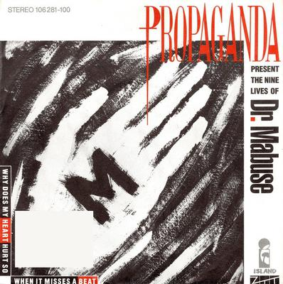 """PROPAGANDA - DR. MABUSE / Dr. Mabuse Der Spieler: The Second Side: 'B To-Morrow' (7"""")"""