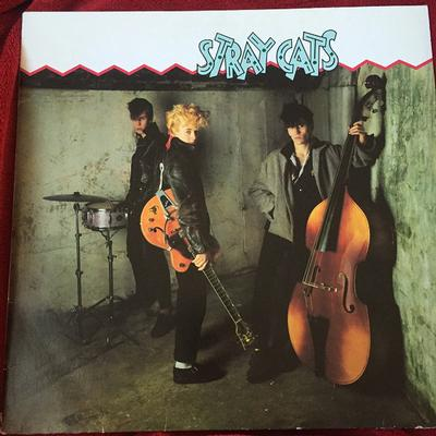 STRAY CATS - S/T German Pressing With Innersleeve (LP)