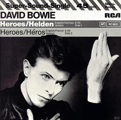 """BOWIE, DAVID - HEROES / HELDEN / Heroes / Héros (12"""")"""