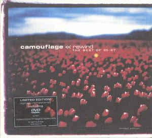 CAMOUFLAGE (SYNTH) - REWIND - THE BEST OF 95-87 Ltd double pack, CD + DVD, numbered, still sealed! (2CD)