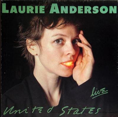 ANDERSON, LAURIE - UNITED STATES LIVE German Pressing Of The 5 Lp Box Set (5LP)