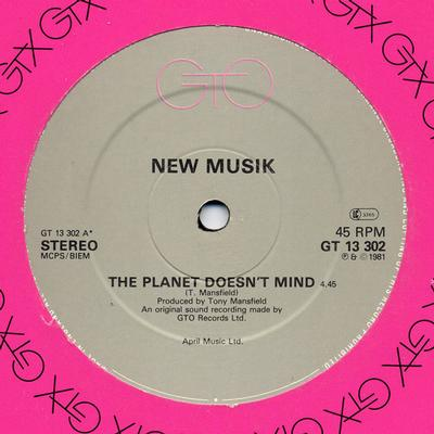 """NEW MUSIK - THE PLANET DOESN'T MIND / 24 Hours From Culture - Part II Rare 1981 UK Pressing (12"""")"""