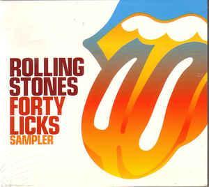 ROLLING STONES, THE - FORTY LICKS SAMPLER 10-track promo (CD)