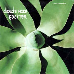 DEPECHE MODE - EXCITER - 5 TRACK ALBUM SAMPLER UK promo (CD)