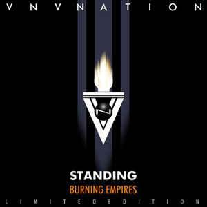 VNV NATION - BURNING EMPIRES / STANDING Rare ltd edition release, still sealed! (2CD)