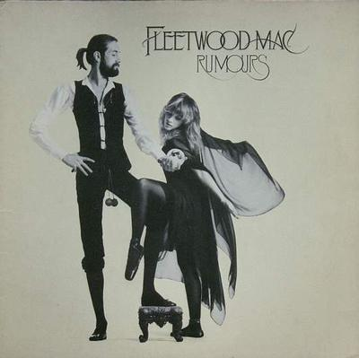 FLEETWOOD MAC - RUMOURS European Reissue With Lightly Textured Sleeve (LP)