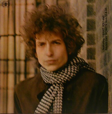 DYLAN, BOB - BLONDE ON BLONDE UK 80's pressing, red labels (2LP)