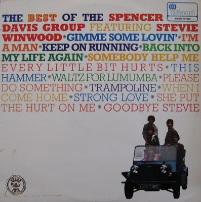 SPENCER DAVIS GROUP, THE - THE BEST OF THE SPENCER DAVIS GROUP Swedish Pressing (LP)
