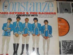 PAUL REVERE AND THE RAIDERS - GREATEST HITS German Pressing With Original CBS Innersleeve (LP)