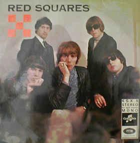 RED SQUARES, THE - RED SQUARES Rare Danish Pressing (LP)