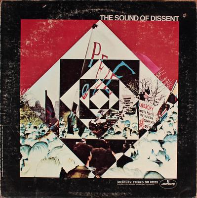 VARIOUS ARTISTS (POP / ROCK) - THE SOUND OF DISSENT US Original Pressing (LP)