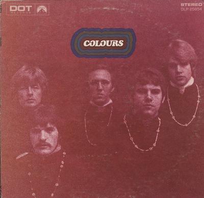COLOURS - S/T US Original Pressing With Boxed Logo Label (LP)
